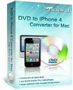 Tipard DVD to iPhone 4 Converter for Mac Voucher Deal