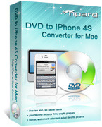 Tipard DVD to iPhone 4S Converter for Mac Voucher Deal