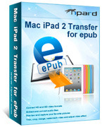 Tipard Mac iPad 2 Transfer for ePub Voucher - 15% Off