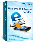 Tipard Mac iPhone 4 Transfer for ePub Voucher - Click to View