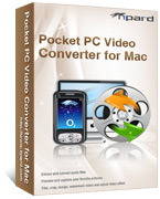 Tipard Pocket PC Video Converter for Mac Discount Voucher - 15%