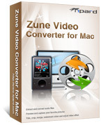 Tipard Zune Video Converter for Mac Voucher - 15%