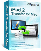 Tipard iPad 2 Transfer for Mac Voucher Code Discount