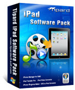 Tipard iPad Software Pack Sale Voucher - 15% Off