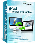 Tipard iPad Transfer Pro for Mac Voucher Code - Click to discover