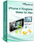 Special 15% Tipard iPhone 4 Ringtone Maker for Mac Voucher Discount