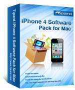 Tipard iPhone 4 Software Pack for Mac Voucher - SALE