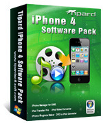 15% Tipard iPhone 4 Software Pack Voucher Discount