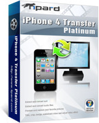 Tipard iPhone 4 Transfer Platinum Voucher - Click to uncover