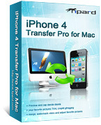 Tipard iPhone 4 Transfer Pro for Mac Discount Voucher - SPECIAL