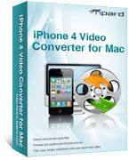 Tipard iPhone 4 Video Converter for Mac Sale Voucher