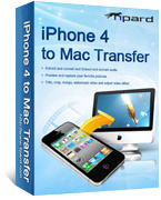 Tipard iPhone 4 to Mac Transfer Discount Voucher - 15%