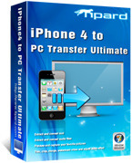 Tipard iPhone 4 to PC Transfer Ultimate Voucher - Click to discover