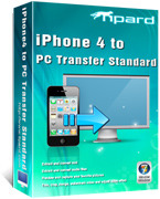 Tipard iPhone 4 to PC Transfer Voucher Sale - 15%