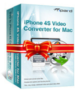 Tipard iPhone 4S Converter Suite for Mac Voucher Deal - SALE