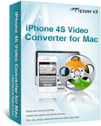 Tipard iPhone 4S Video Converter for Mac Voucher Code - Special