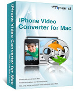 Special 15% Tipard iPhone Video Converter for Mac Voucher Deal