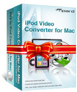 15% Tipard iPod Converter Suite for Mac Discount Voucher