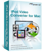 Tipard iPod Video Converter for Mac Voucher Discount