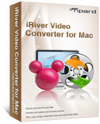 Tipard iRiver Video Converter for Mac Voucher - Instant 15% Off