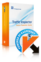 Special 15% Traffic Inspector+Traffic Inspector Anti-Virus powered by Kaspersky (1 Year) Gold 10 Voucher Sale