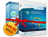 Video Download Capture + Streaming Audio Recorder Personal License Voucher Sale
