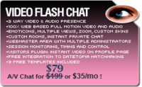 Video Flash Chat - Full Source Code Unlimited License Voucher - Click to uncover