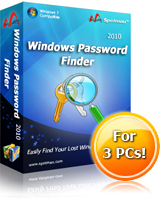 10% Savings on Windows Password Finder 2010(Special Sale) Voucher Code