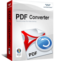 5% Discount Wondershare PDF Converter for Windows (Lifetime) Voucher