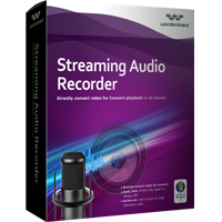 30% Wondershare Streaming Audio Recorder for Windows Discount
