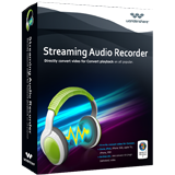 Wondershare Streaming Audio Recorder Voucher - Exclusive