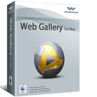 5% Wondershare Web Gallery for Mac Discount