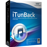 5% Wondershare iTunBack for Windows Voucher