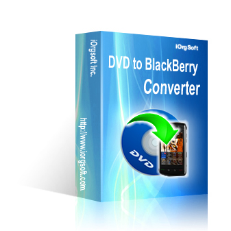 Receive 50% iOrgSoft DVD to BlackBerry Converter Voucher