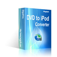 iOrgSoft DVD to iPod Converter 40% Discount Code