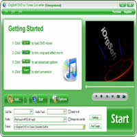 iOrgSoft DVD to iTunes Converter 50% Voucher