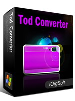50% voucher on iOrgSoft Tod Converter