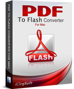 iOrgsoft PDF to Flash Converter for Mac 40% Discount