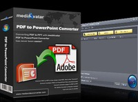 mediAvatar PDF to PowerPoint Converter Voucher - 15% Off